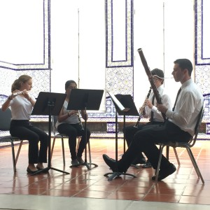 Winds Quartet flute, clarinet, oboe, and bassoon