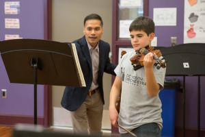 DCYOP 55th Anniversary Violin class