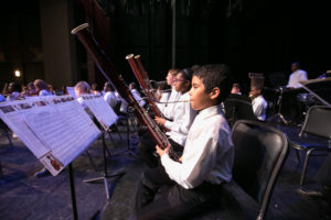 DCYOP young bassoonist